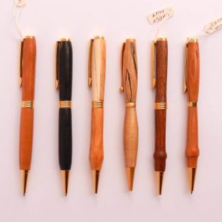 Selection of handmade pens by Kilcrea Crafts